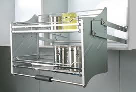 Pull Down Kitchen Cupboard Units
